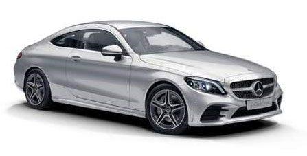 Menu-Mercedes-benz-c-class-coupe